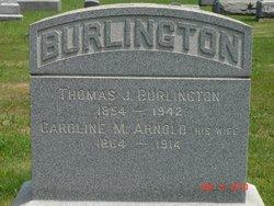 Caroline Marilla <i>Arnold</i> Burlington