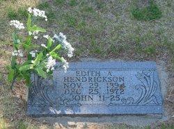 Edith <i>Engstrom</i> Hendrickson
