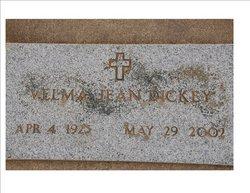 Velma Jean <i>Hobbs Rawlings</i> Dickey