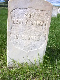 Pvt Henry Bowen