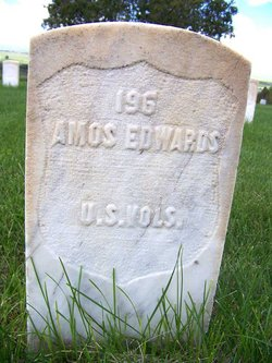 Pvt Amos J. Edwards