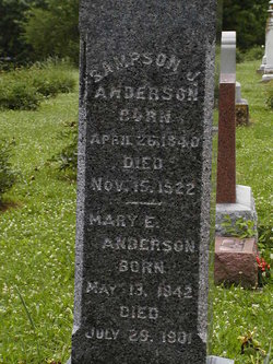 Mary Elizabeth <i>Terhune</i> Anderson