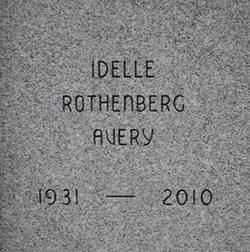 Idelle Dell <i>Rothenberg</i> Avery