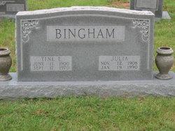 Julia Vera <i>Zumwalt</i> Bingham