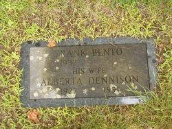 Alberta Dorothy <i>Dennison</i> Bento