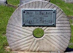 Mary Keziah <i>Cromer</i> Baldwin