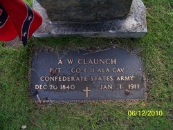 Pvt A. W. Claunch