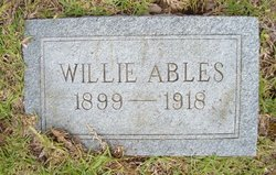 Willie Ables