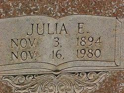 Julia E <i>Hoodenpyle</i> Beeman
