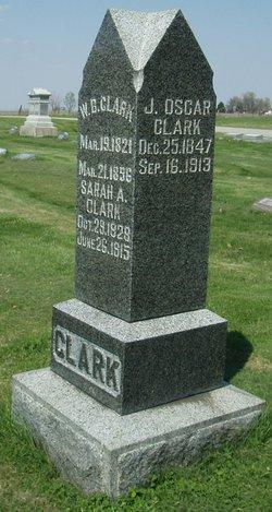Sarah Ann <i>Hudson</i> Clark