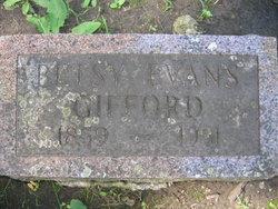 Betsy <i>Evans</i> Gifford