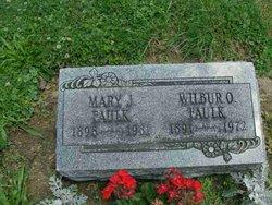 Mary Jane <i>Marts</i> Faulk
