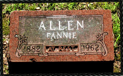 Fannie Belle <i>Chandler</i> Allen