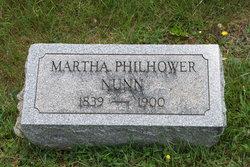 Martha <i>Philhower</i> Nunn