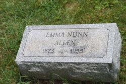 Emma <i>Nunn</i> Allen