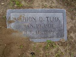Marion D. Turk