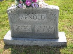Patsy <i>Bennett</i> Arnold