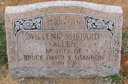 Willene <i>Shepard</i> Allen