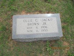 Ollie C Jack Brown, Jr