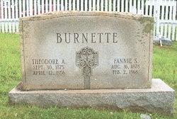 Fannie <i>Sprouse</i> Burnette