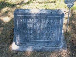 Minnie Hake Bennett