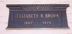 Elizabeth R. <i>Chase</i> Brown