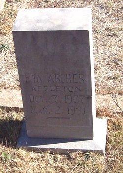 Eva <i>Archer</i> Appleton