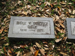 Marie W <i>Sanchez</i> Daly