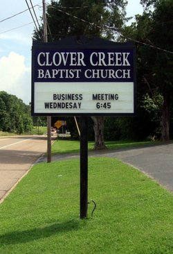 Clover Creek Baptist Church Cemetery