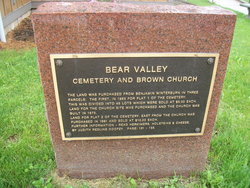 Bear Valley Cemetery
