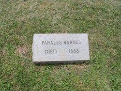 Nancy Paralee <i>Beaton</i> Barnes