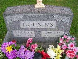 Adda May <i>Roudebush</i> Cousins