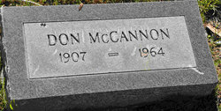Donald Austin McCannon