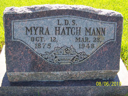 Myra Rhoana <i>Hatch</i> Mann