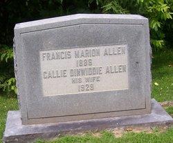 Callie Rebecca <i>Dinwiddie</i> Allen
