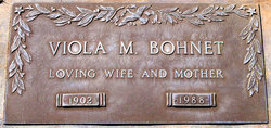 Viola Mae <i>Moore</i> Bohnet