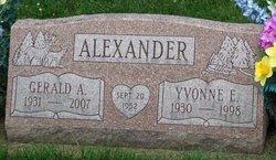 Yvonne Elizabeth Bonnie <i>Conkell</i> Alexander