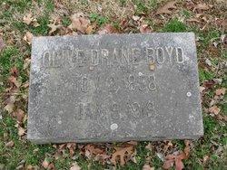 Olive <i>Drane</i> Boyd