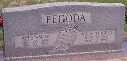 John William Pegoda, Sr