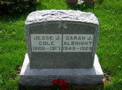 Sarah Jane <i>Cole</i> Albright