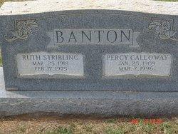 Ruth <i>Stribling</i> Banton