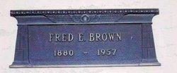 Fred Ernest Brown