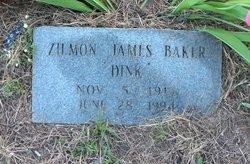 Zilmon James Dink Baker