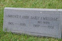 Daisy J <i>Williams</i> Ader
