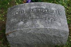 Edith M. Wiedrich