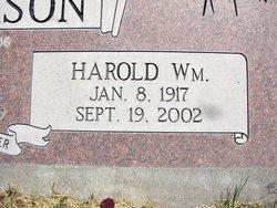 Harold William Anderson