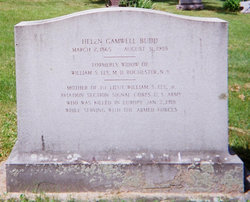 Helen <i>Gamwell</i> Budd