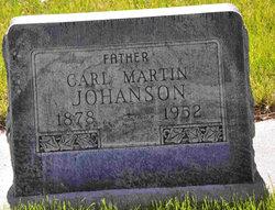 Carl Martin Johanson