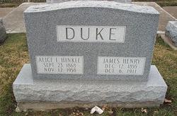 Alice Lorinda <i>Hinkle</i> Duke