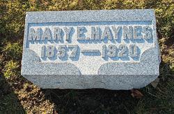 Mary Elizabeth <i>Sandifur</i> Haynes